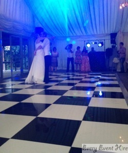 Bride and Groom on Dance Floor Gloucester
