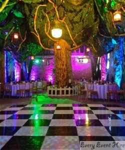 Brockworth Tithe Barn Wedding Dance Floor