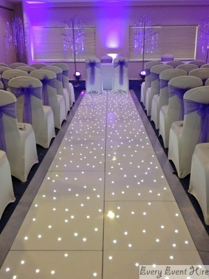 Gloucestershire Wedding Aisle Hire