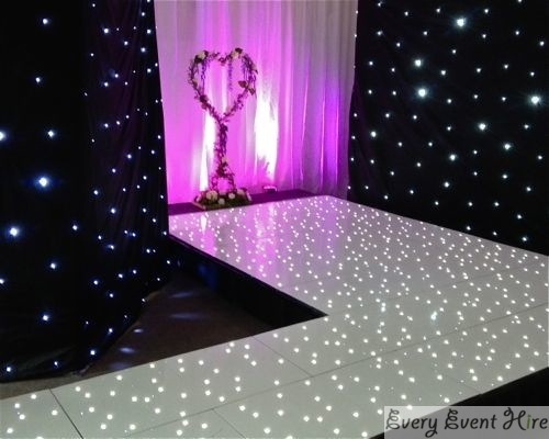 Catwalk with Starlit Floor and Lighting