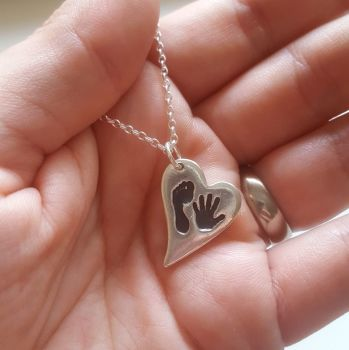 Regular Handprint or Footprint Pendant