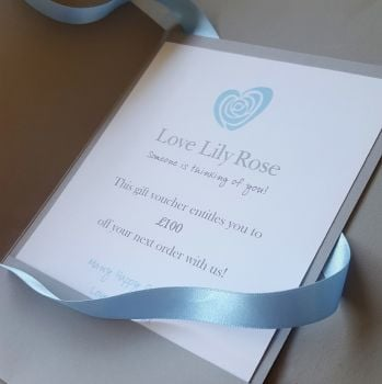 Love Lily Rose Gift Voucher