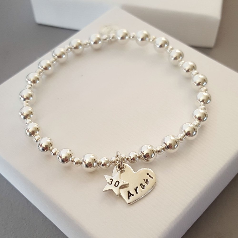 Personalised Birthday Charm Bracelet
