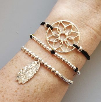 Dreamcatcher Bracelet Stack