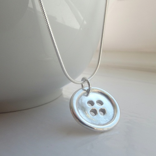 Personalised Button Jewellery
