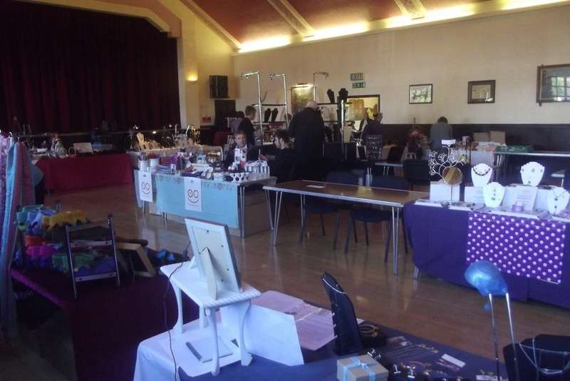 Craft Fair hall