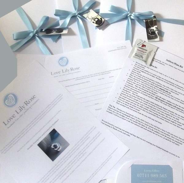 Love Lily Rose Fine Silver Jewellery & Keepsakes. Gift Packs.
