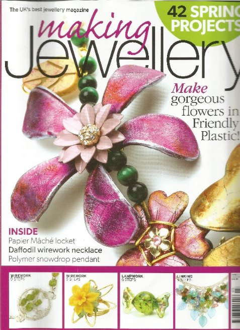 Personalised Handmade Jewellery | Featured in Making Jewellery Magazine