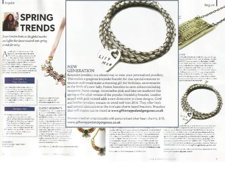 Jewellery Trends Feature | Love Lily Rose | Gift Wrapped and Gorgeous
