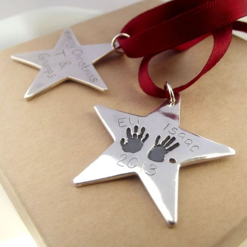 Keepsake Star Decoration