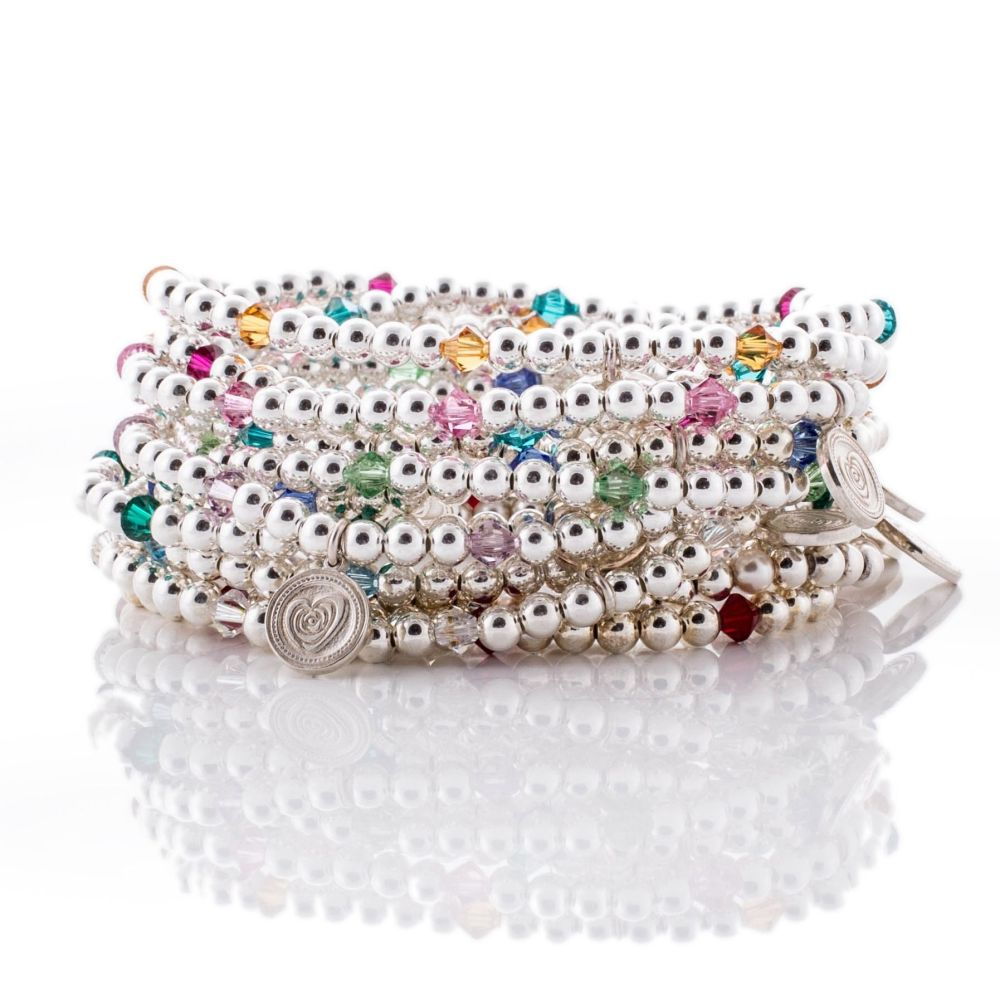 style june elements beadaholique swarovski bracelet european birthstone