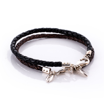 Tiny Tag Personalised Leather Bracelet