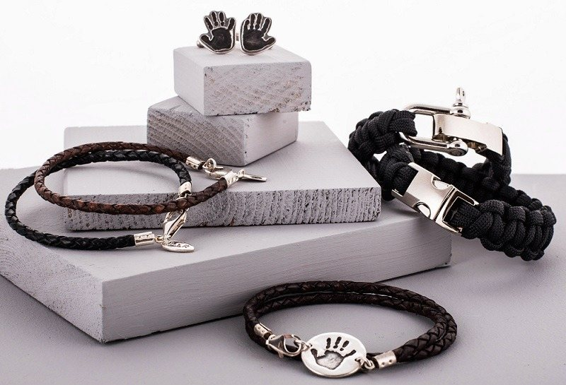 Mens Personalised Silver Jewellery