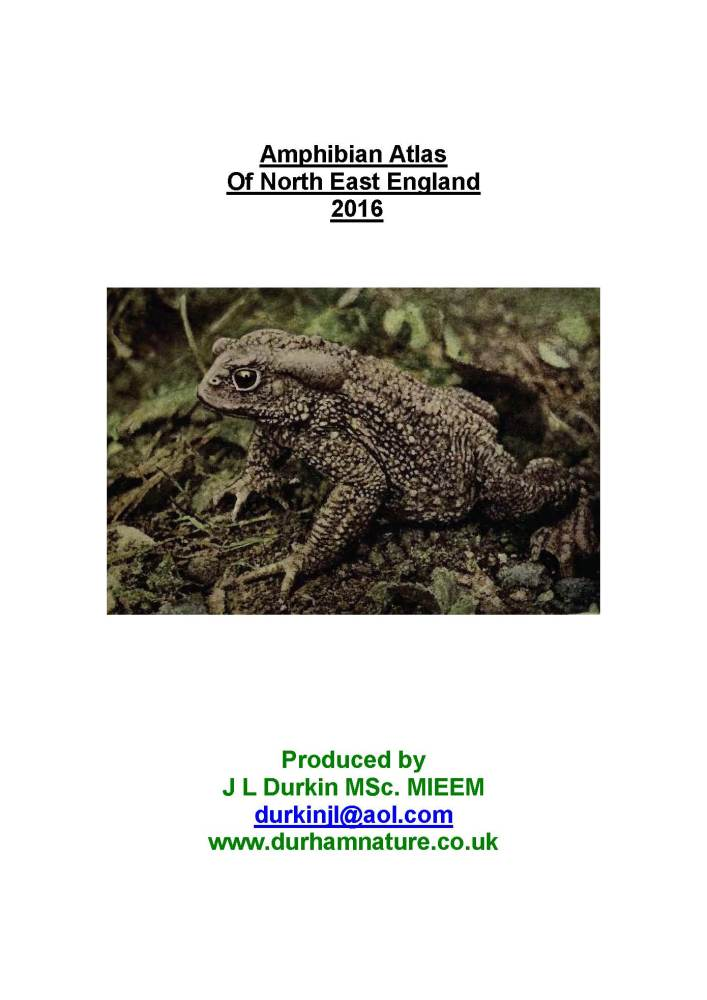 pages from north east england amphibian atlas 2016