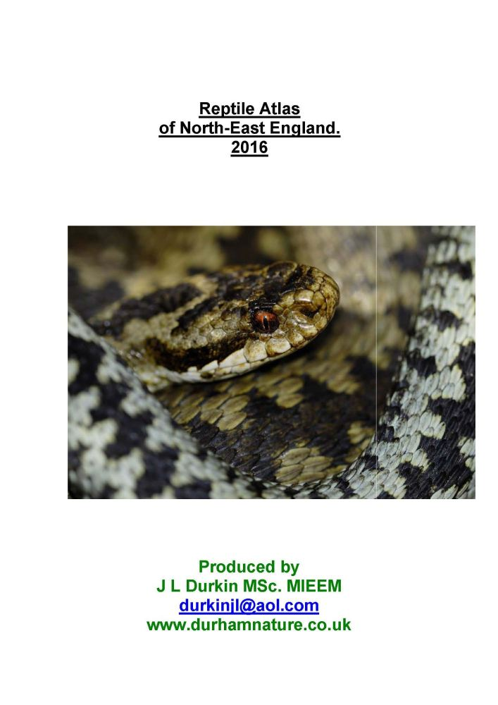 pages from north east england reptile atlas 2016