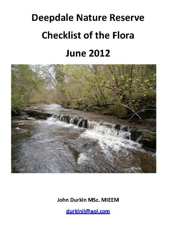 deepdale flora checklist 2012