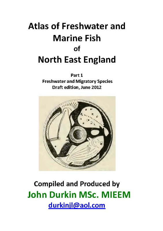 freshwater fish atlas of north-east england