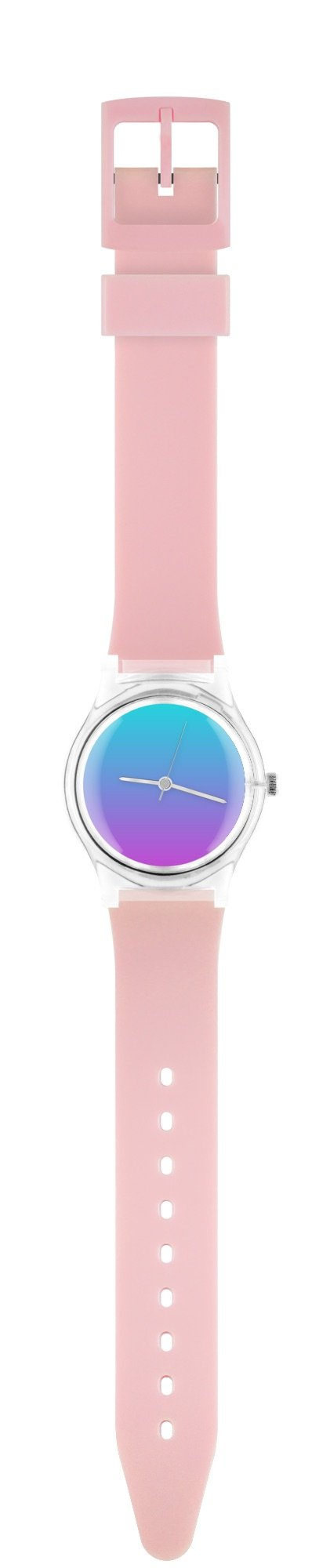06:25pm Pink ombré watch