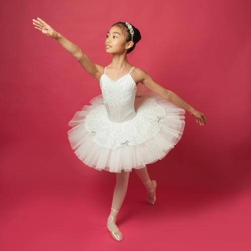 White Lace Tutu - Age 7-8