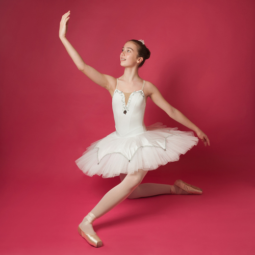 Age 11-13 - White& Silver Tutu for Hire