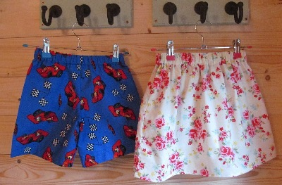 Children's Skirts and Shorts