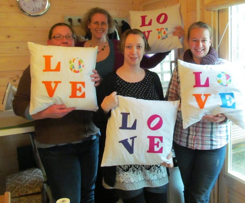 love cushion workshop