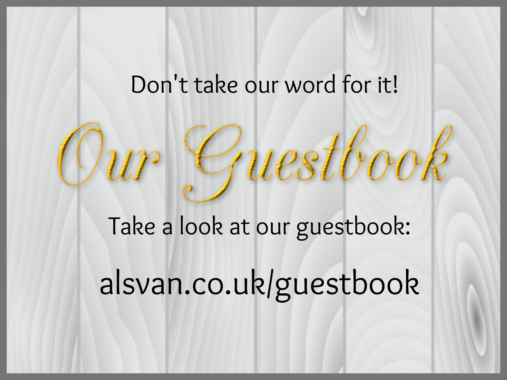Take a look at the feedback for AVMR holidays