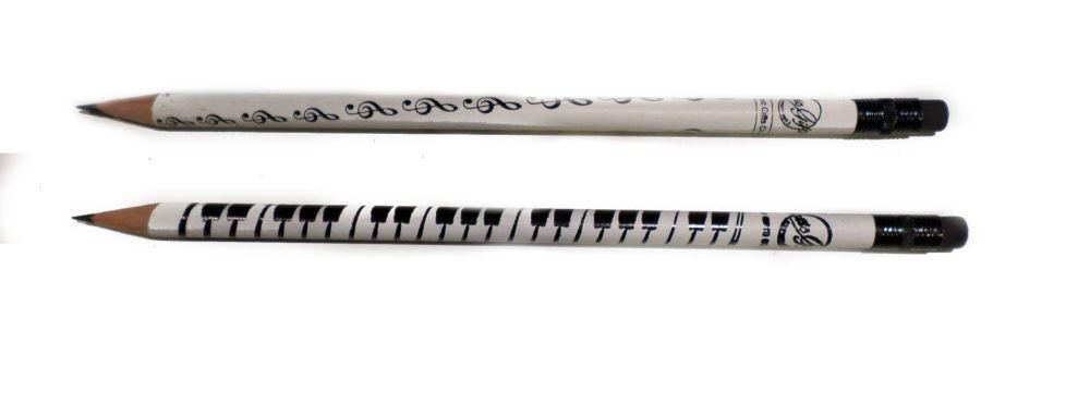 Pencil Music design - rubber tip
