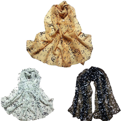 Chiffon scarf - Music design