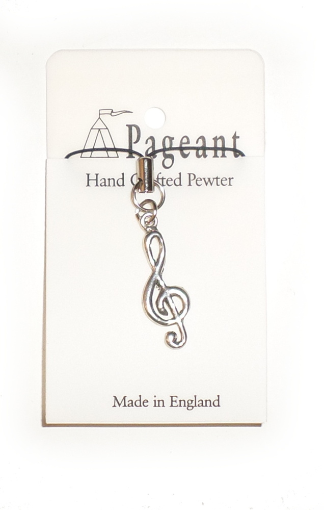 Phone/Bag Charm - Treble Clef