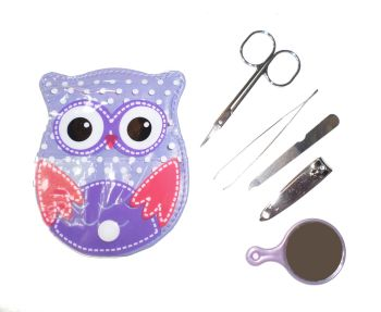 Nail care kit - Owl Design