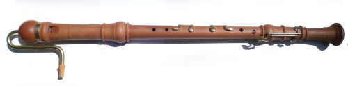 Mollenhauer Denner Bass, Pearwood, double keys, crook blown- Pre-owned