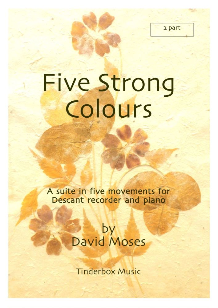 Five Strong Colours (Descant and Piano)