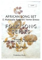 African Song Set (SATB)