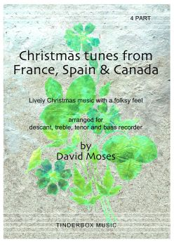 Christmas Tunes from France, Spain & Canada (SATB)