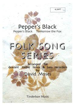 Pepper's Black (SATB)
