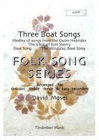 Three Boat Songs (SATB)