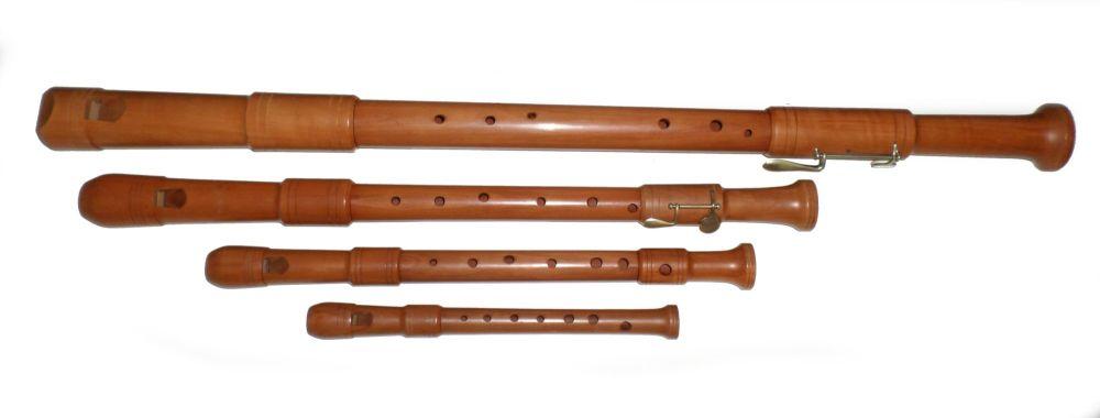 Hopf Renaissance Consort of 4 (S, A, T, B) - Pre-owned