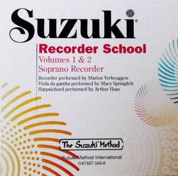 Suzuki recorder (Soprano Vol 1&2) CD