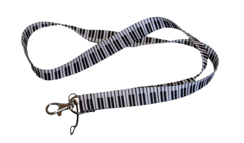 Lanyard - Music Notes / Piano design