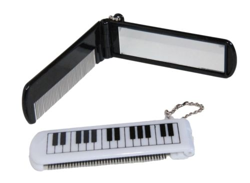 Comb and Mirror keyring