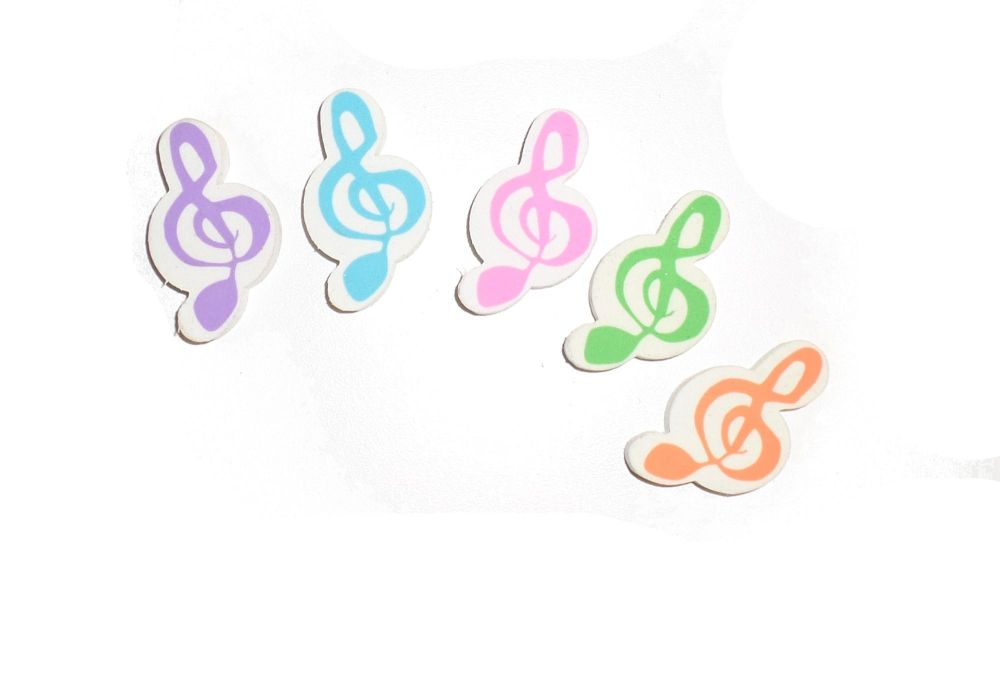 Eraser - Music Note Design