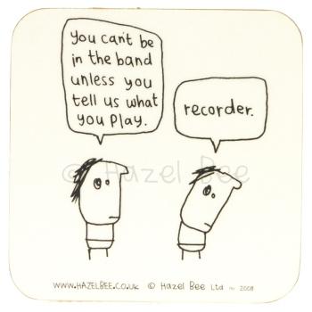 Coaster - Recorder Band