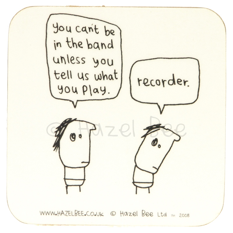Coaster - Recorder Band