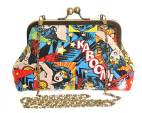 WONDER WOMAN KABOOM! EVENING BAG