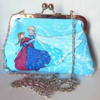 FROZEN 'GLITTERY' EVENING HANDBAG
