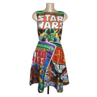 STAR WARS COMIC COVERS DRESS (LARGE PRINT) Available in sizes 6-22