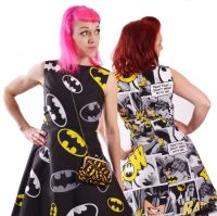 COMIC BOOK DRESSES