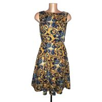 DR WHO VAN GOGH EXPLODING TARDIS DRESS (VARIOUS SIZES 6-22 & MADE TO ORDER)