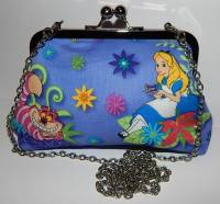 ALICE IN WONDERLAND EVENING HANDBAG